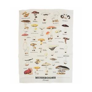 Utěrka z bavlny Gift Republic Mushrooms
