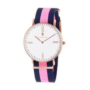 Růžovo-modré dámské hodinky Black Oak Old Timer