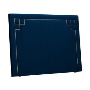 Tăblie pentru pat THE CLASSIC LIVING Nicolas, 120 x 160 cm, albastru închis