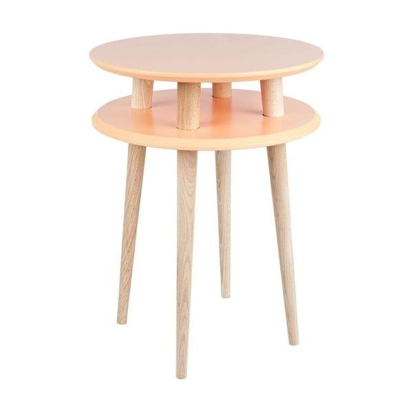 Odkládací stolek UFO 61x45 cm, oranžový