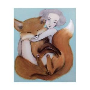 Autorský plakát od Lény Brauner Liška, 50,2x60cm