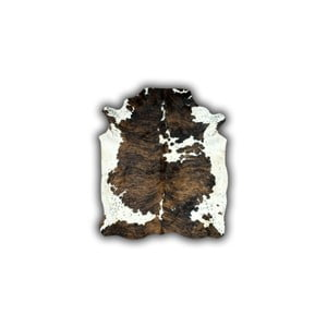 Kožená předložka Normand Cow, 170x190 cm