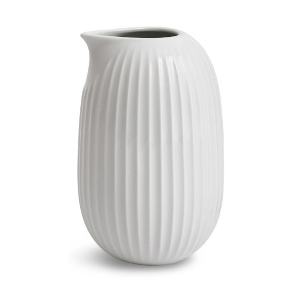 Biely porcelánový džbán Kähler Design Hammershoi, 500 ml