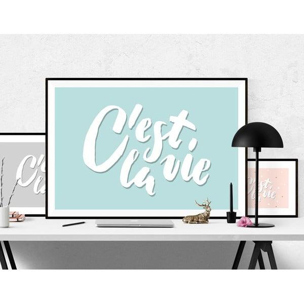 Plakát C'est La Vie Blue, A2