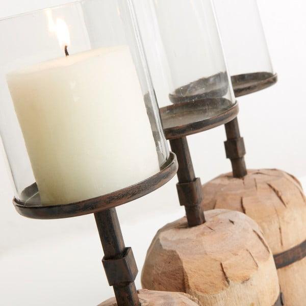 Stojan na svíčky La Forma  Asana