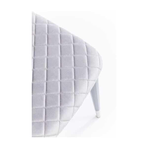 Set 2 scaune Kare Design Montmartre, gri deschis