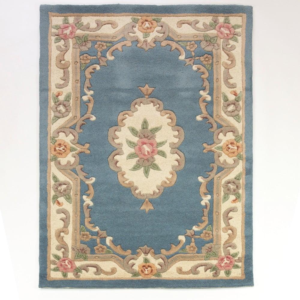 Koberec z vlny Flair Rugs Aubusson Blue, 120 x 170 cm