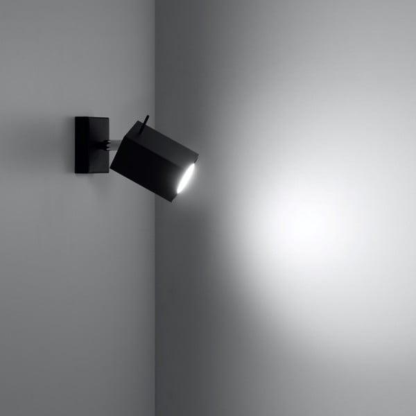 Černé nástěnné světlo Nice Lamps Toscana