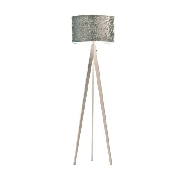 Stojací lampa Artist Celestia Blue/White, 150x42 cm