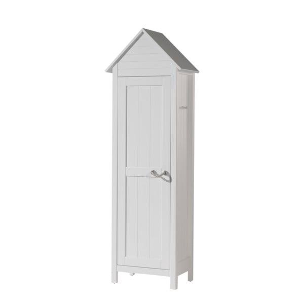 Dulap pentru copii Vipack Lewis, 190 x 40 cm, alb