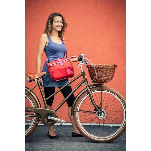 Taška Utility Bag TUbí, červená/růžová