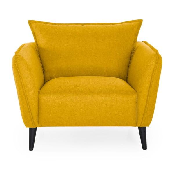 Żółty fotel Softnord Malmo