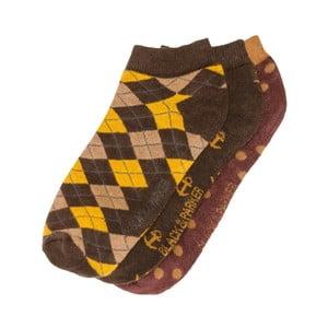 Set 3 perechi șosete scurte unisex Black&Parker London Fowler, mărimea 37/43
