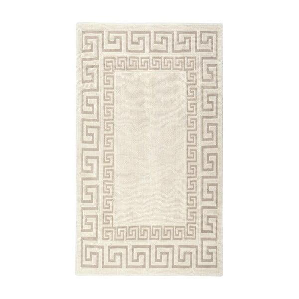 Krémový bavlněný koberec Floorist Orient, 100x200cm