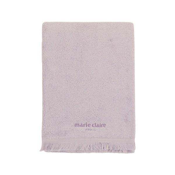 Fialový ručník Marie Claire