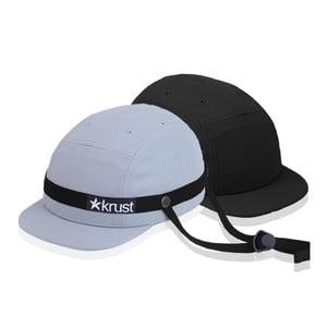 Cyklistická přilba Krust grey/black/black s náhradní čepičkou, velikost M/L