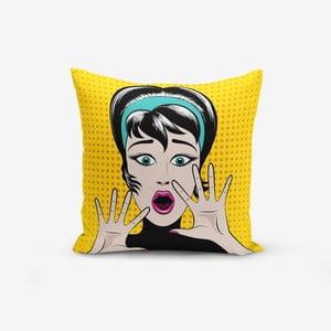 Povlak na polštář s příměsí bavlny Minimalist Cushion Covers PopArt Points,45x45cm