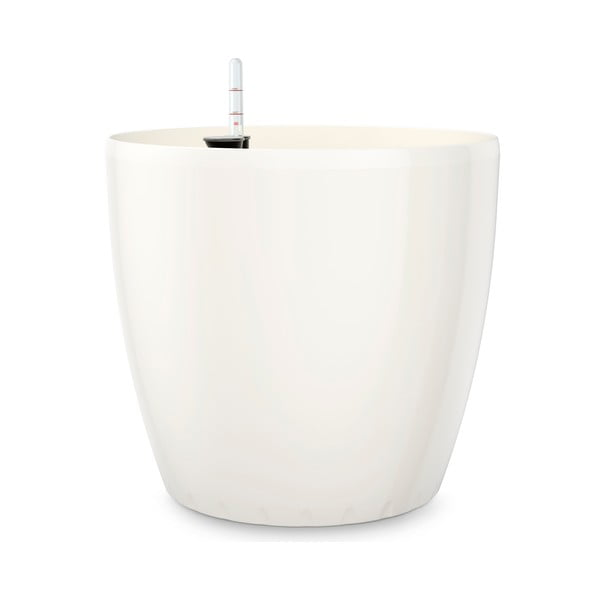 Vysoce odolný květináč Casa Brilliant 35 cm, bílý