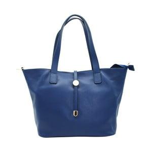Námořnicky modrá kabelka z pravé kůže Andrea Cardone Matteo