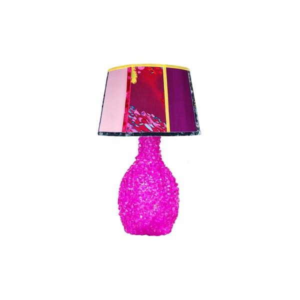 Stolní lampa Crystal Fuchsia