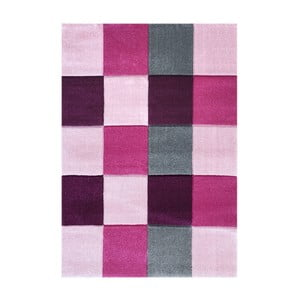 Covor pentru copii Happy Rugs Patchwork, 120x180 cm, roz