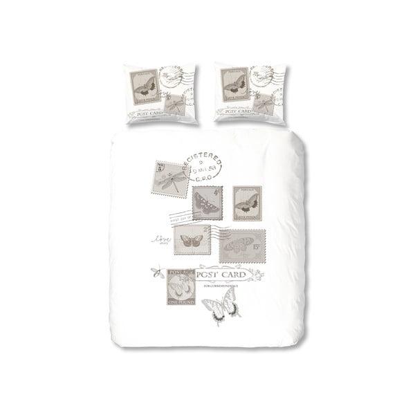 Povlečení Postage, 140x200 cm, šedé