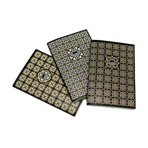 Set 3 agende Makenotes Golden Tiles