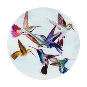 Nástěnné hodiny 8mood Hummingbird