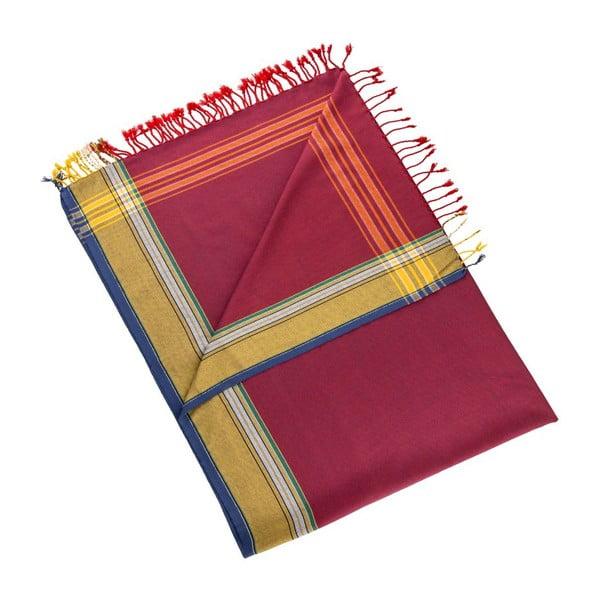Ručník/pareo Uner Red, 100x178 cm