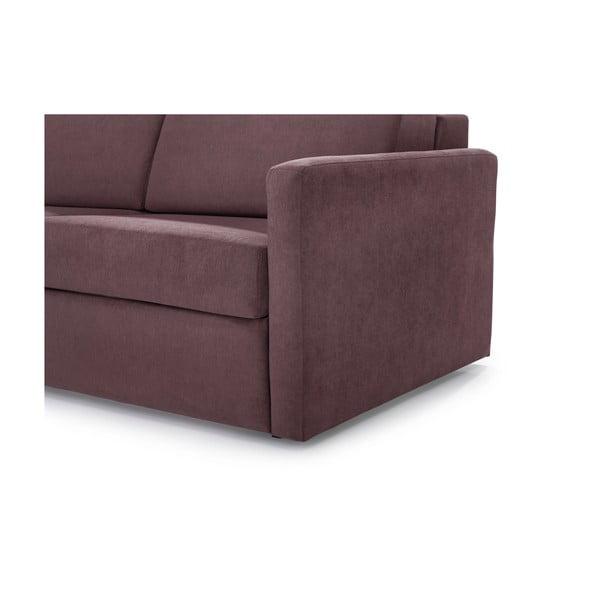 Canapea extensibilă Softnord Soul, roz închis