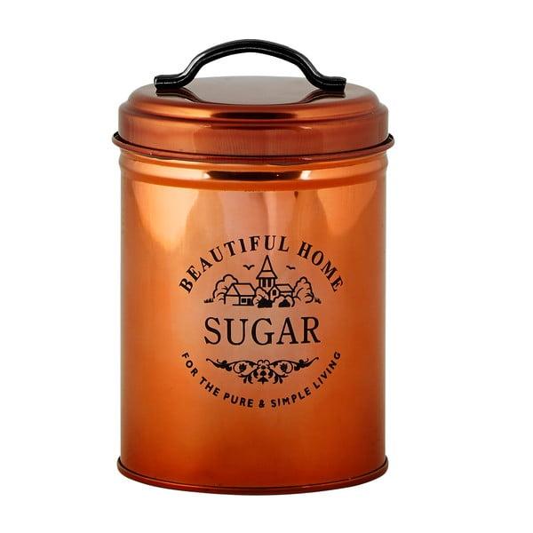 Měděná dóza na cukr