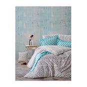 Lenjerie de pat cu cearșaf Kavi, 200 x 220 cm