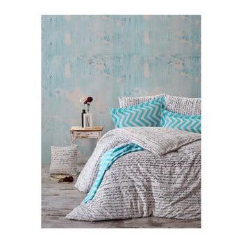 Lenjerie de pat cu cearșaf Kavi, 200 x 220 cm de la En Vogue