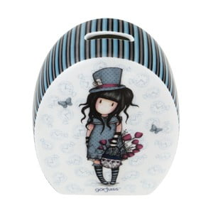Porcelánová kasička Santoro London Gorjuss The Hatter