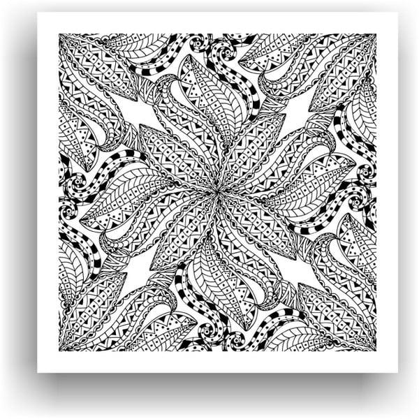 Obraz k vymalování Color It no. 92, 50x50 cm