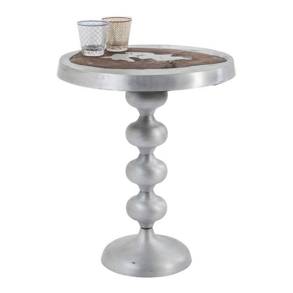 Odkládací stolek z lakovaného mangového dřeva Kare Design