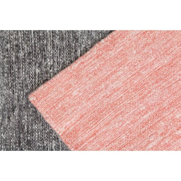 Vlněný koberec Pulvis Pink, 200x300 cm