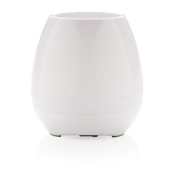 Ghiveci cu boxă/difuzor încorporat XD Design Flower, alb