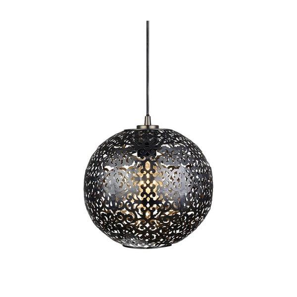 Černé závěsné svítidlo Markslöjd Indigo, ⌀ 29 cm