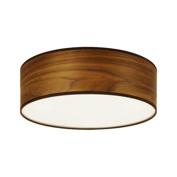 TSURI mennyezeti lámpa természetes furnérból diófa színben, ⌀ 30cm - Sotto Luce