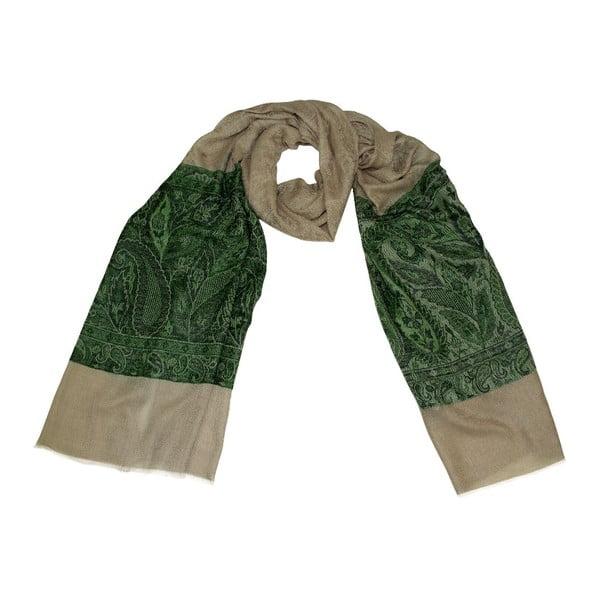 Vlněný šátek Shirin Sehan Lorena Forest