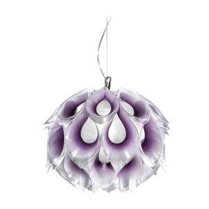 Stropní světlo Flora Purple, 31 cm