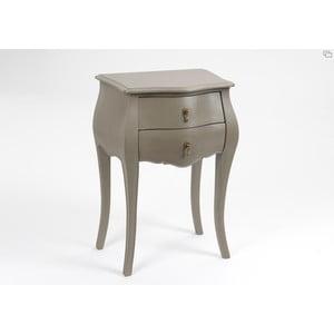 Odkládací stolek se dvěma zásuvkami Muran Taupe