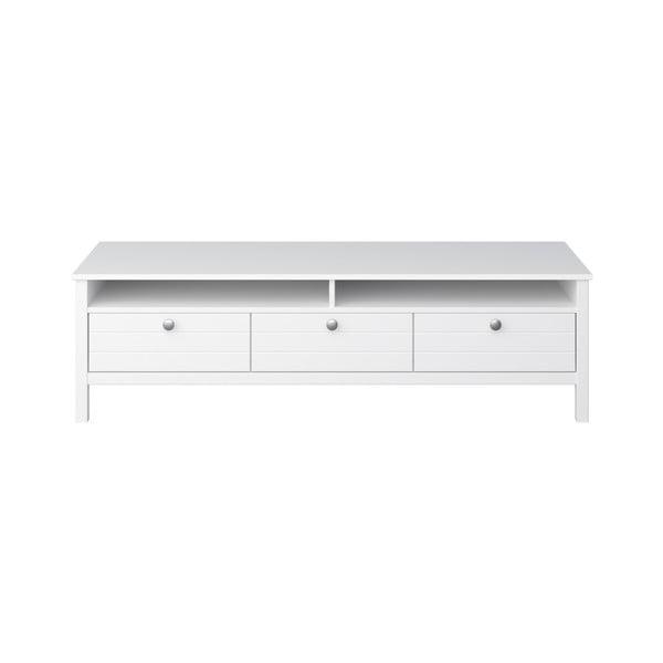 Biała szafka pod TV Steens New York, szer. 140 cm