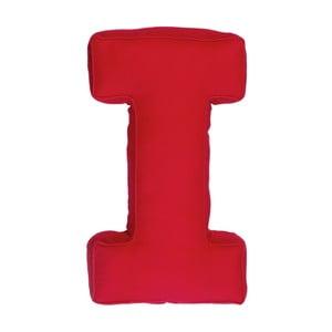 Látkový polštář I, červený