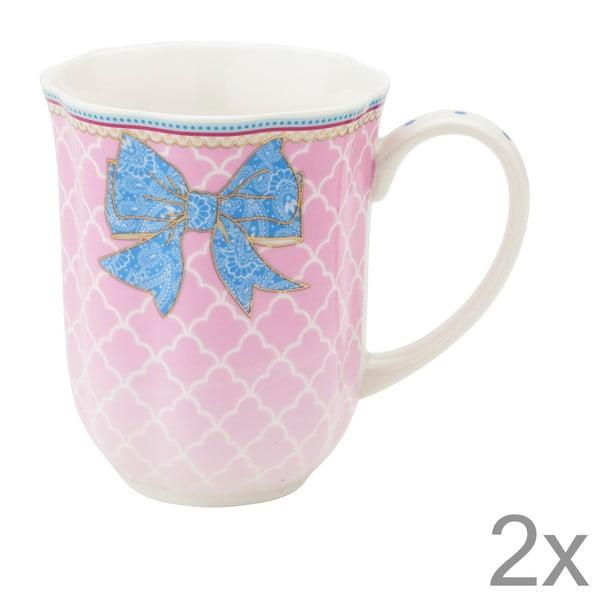Porcelánový hrnek na kávu Bowie od Lisbeth Dahl, 2 ks