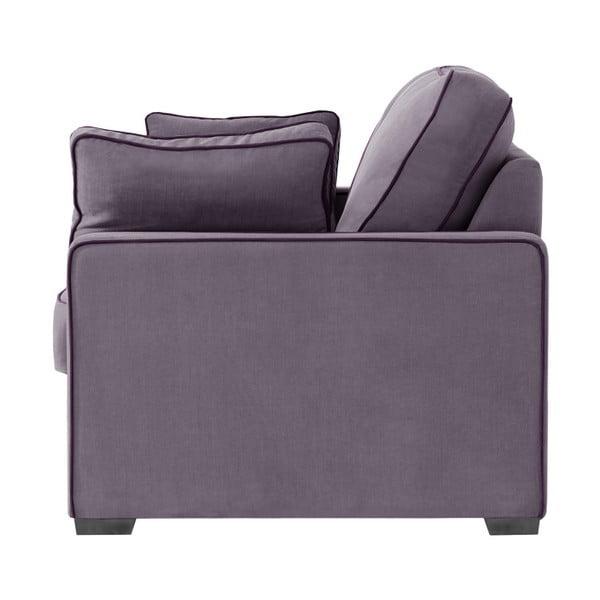 Třímístná pohovka Jalouse Maison Serena, fialová