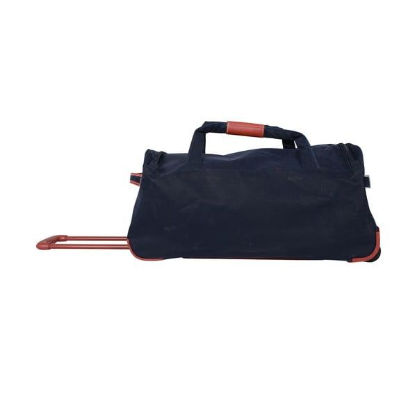 Cestovní taška na kolečkách Jean Louis Scherrer Navy, 76.5 l