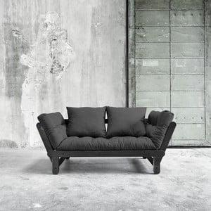 Canapea extensibilă Beat Black/Dark