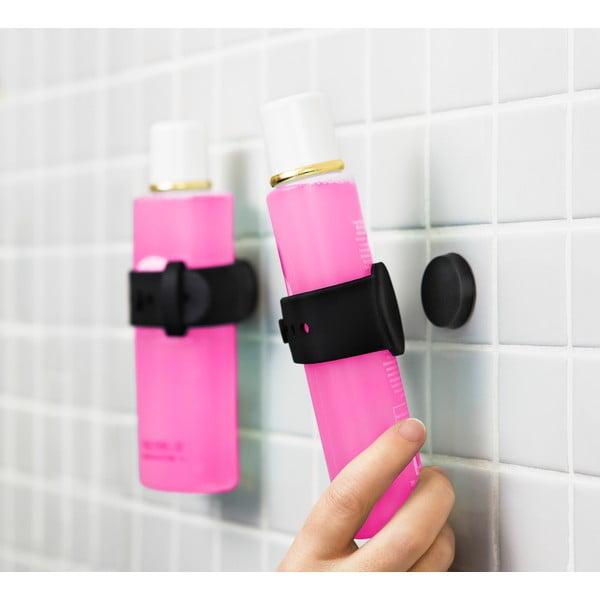 Suport magnetic pentru șampon și gel de duș Reenbergs, negru